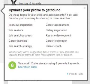 Optimize your LinkedIn profile with Skills and Expertise
